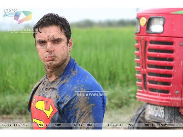 Sohail Khan looking angry
