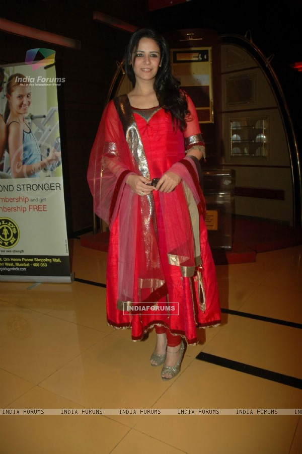 Mona Singh at Utt Patang film premiere at Cinemax. .