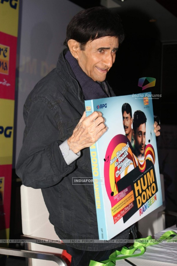 Dev Anand at Hum Dono film press meet at Novotel. .