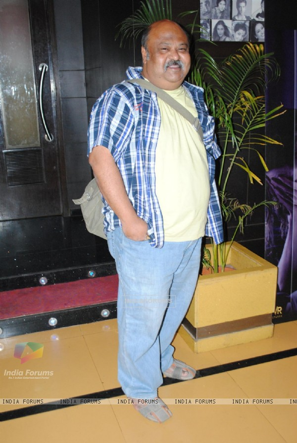Saurabh Shukla at Premiere of 'Utt Pataang' movie