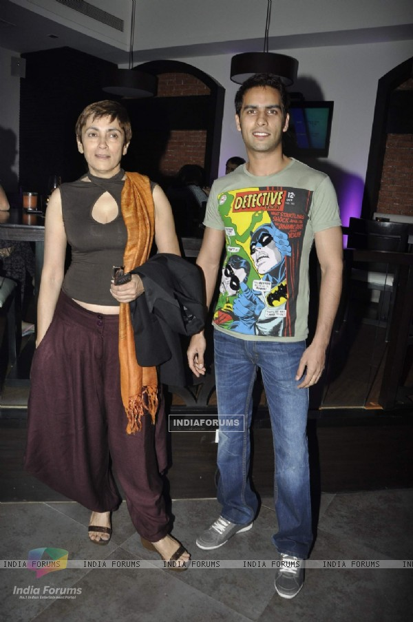 Deepa Sahi at Fat Cafe dinner at Andheri. .