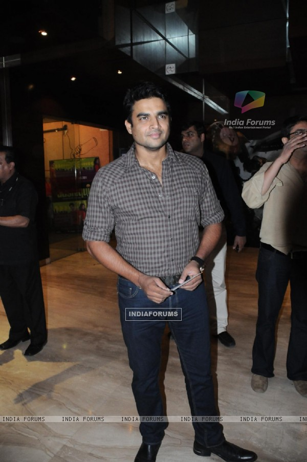 R. Madhavan at Premiere of 'Yeh Saali Zindagi'
