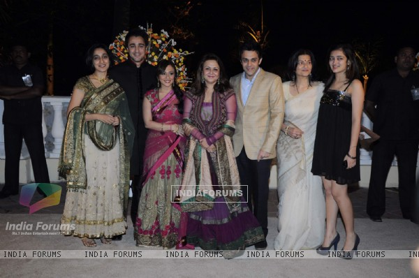 Guest at Imran Khan and Avantika Malik's Wedding Reception Party at Taj Land's End. .