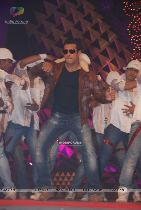 Salman Khan performs at Stardust awards 2011 at Bandra. .