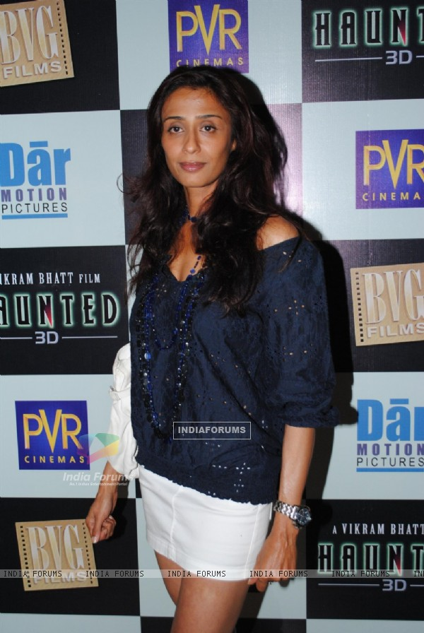 Achint Kaur at Launch of Vikram Bhatt's 'Haunted - 3D' movie first look