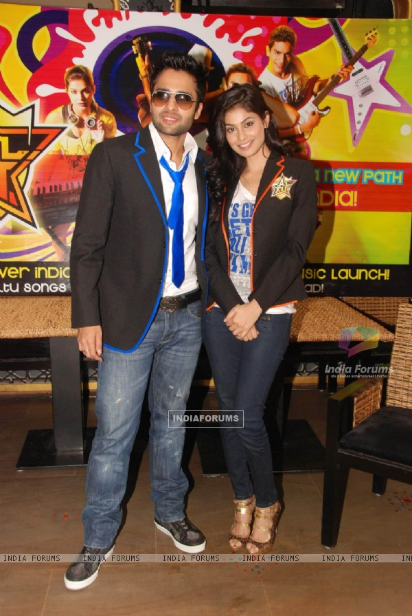 Jackky Bhagnani and Pooja Gupta at F.A.L.T.U film press meet. .