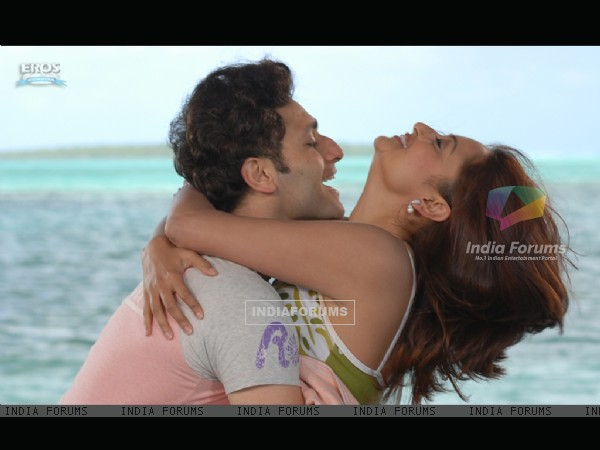 A still image of Kaveri Jha and Shiney Ahuja