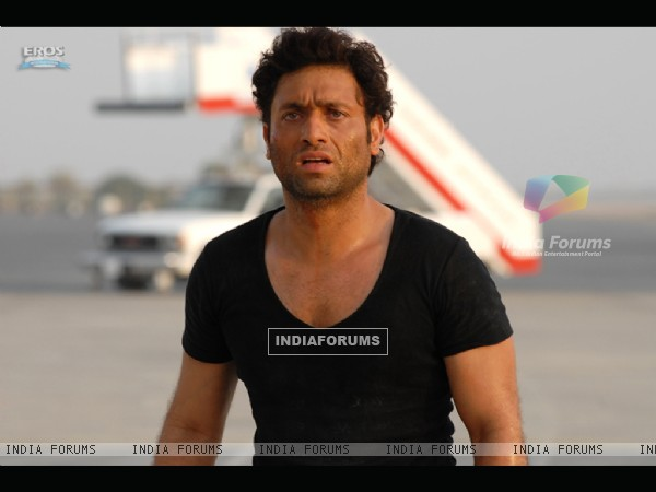 Shiney Ahuja looking upset
