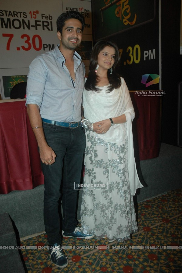 Rubina and Avinash at Media meet of Zee Tv Choti Bahu at JW Marriott. .