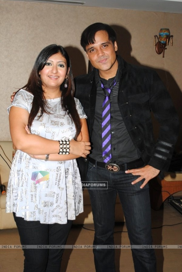 Juhi Parmar and Yash Tonk at 'Maa Exchange' Success party