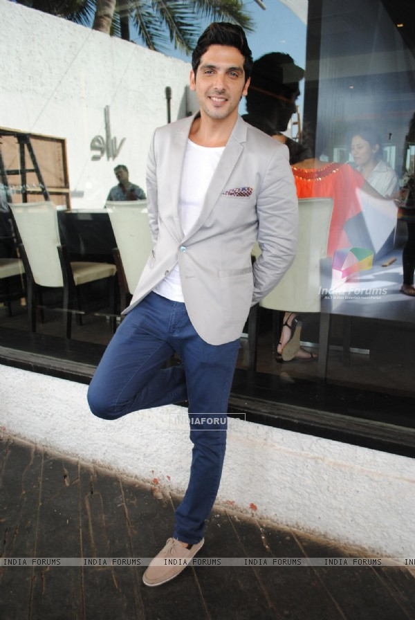 Zayed Khan at Promotion of Film 'Love Breakups Zindagi'