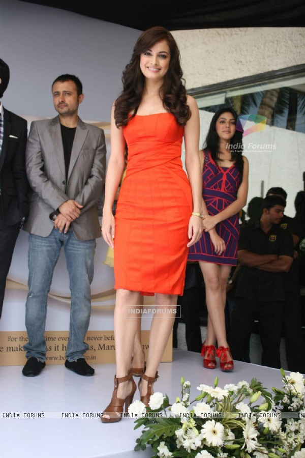 Dia Mirza at the Launch of Love Breakups ZIndagi at Vie Lounge. .