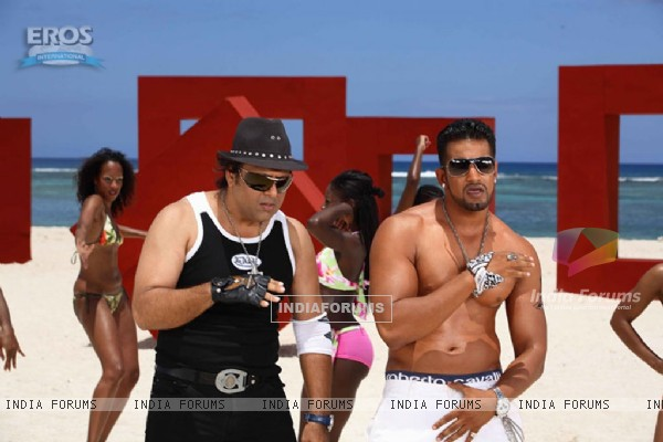 Upen Patel and Govinda looking hot