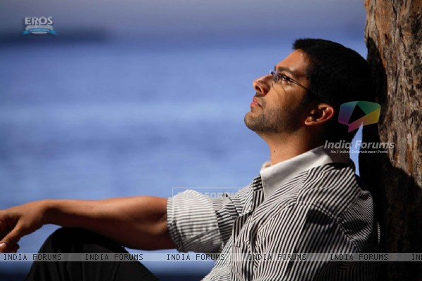 Aftab Shivdasani looking tensed