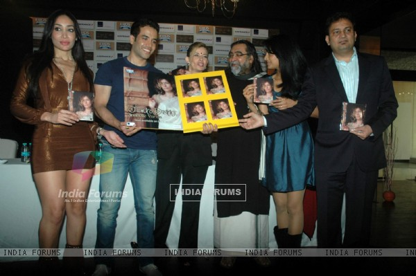Tusshar, Geeta, Sofia Hayat at Anabelle Verma single Tumko Dekha launch at Novotel. .