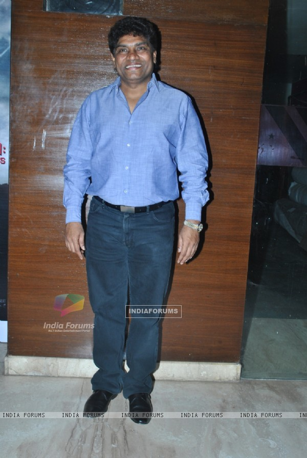 Johny Lever at Masti Express Film Premiere at Cinemax. .