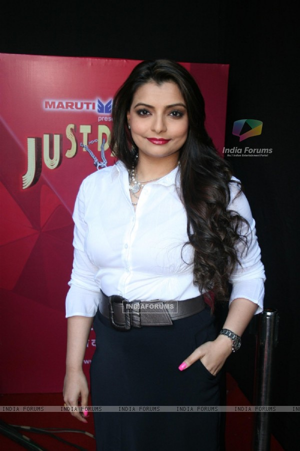 Vaibhavi Merchant at TV talent show 'Just Dance'