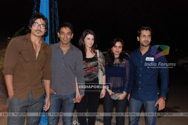 Various Celebs at Nature Basket Launch at Juhu. .