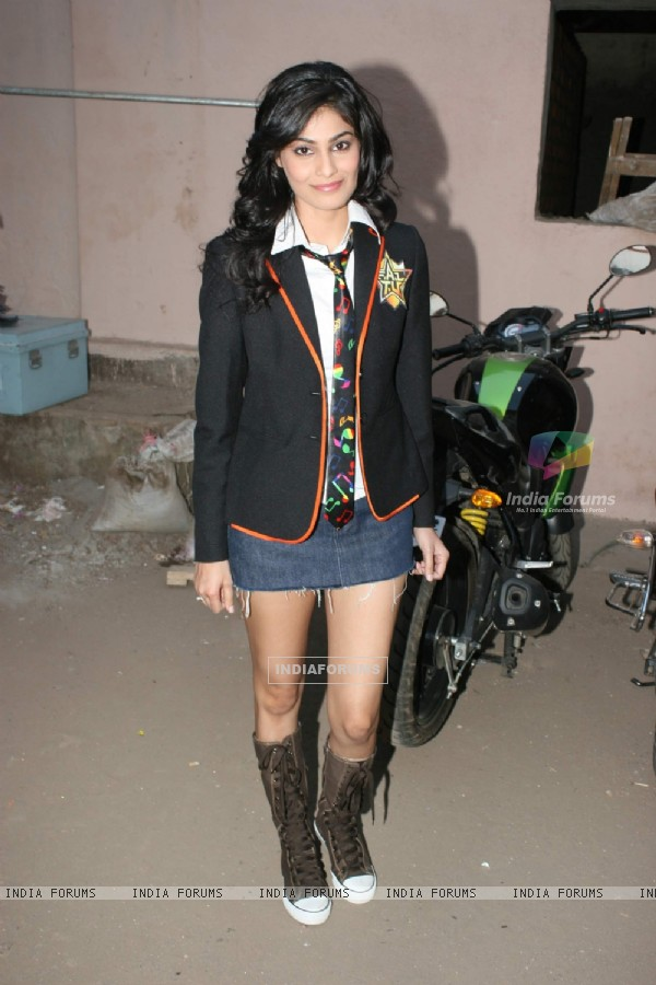 F.A.L.T.U movie Pooja Gupta on the sets of Jhalak Dikhla Jaa at Filmistan