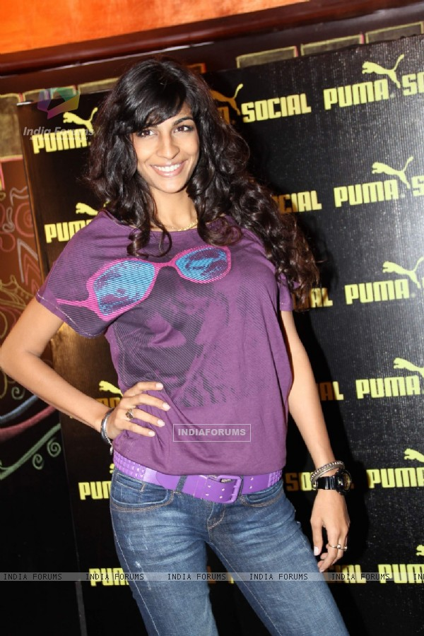 Anushka Manchanda at Puma Social Launch at Sea Princess. .
