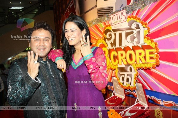 Press confrence of new show 'Shaadi 3 Crore Ki' with Mona Singh and Ali Asgar