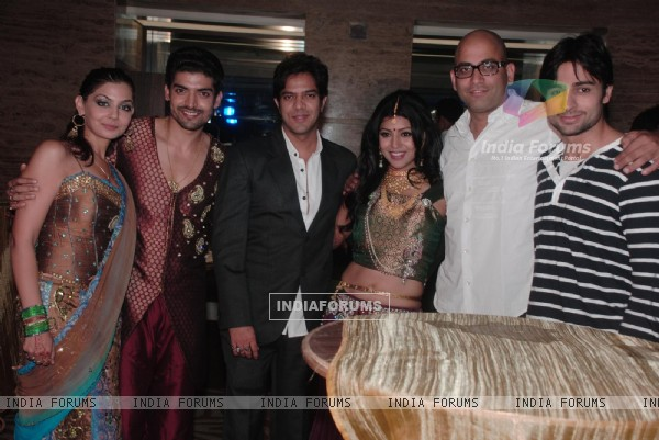 Shaleen Bhanot at Gurmeet & Debina Choudhry's reception party