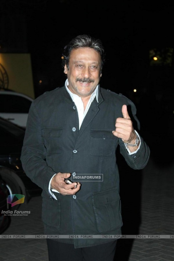 Jackie Shroff at Videocons Venuegopal Dhoots Daughter Marriage
