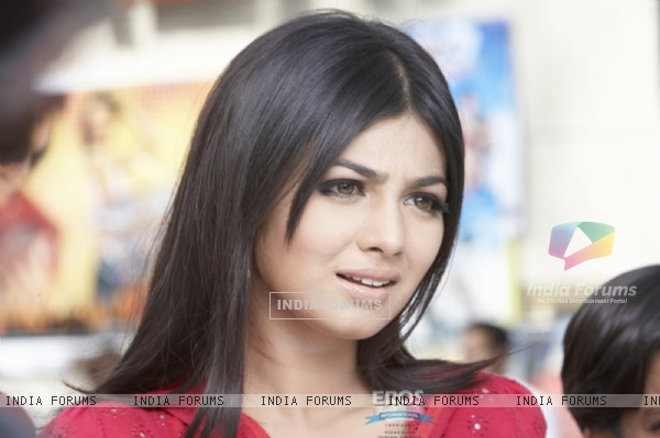 Ayesha Takia looking shocked