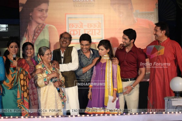 Launch of new show 'Chhajje Chhajje Ka Pyaar' on Sony Entertainment Television