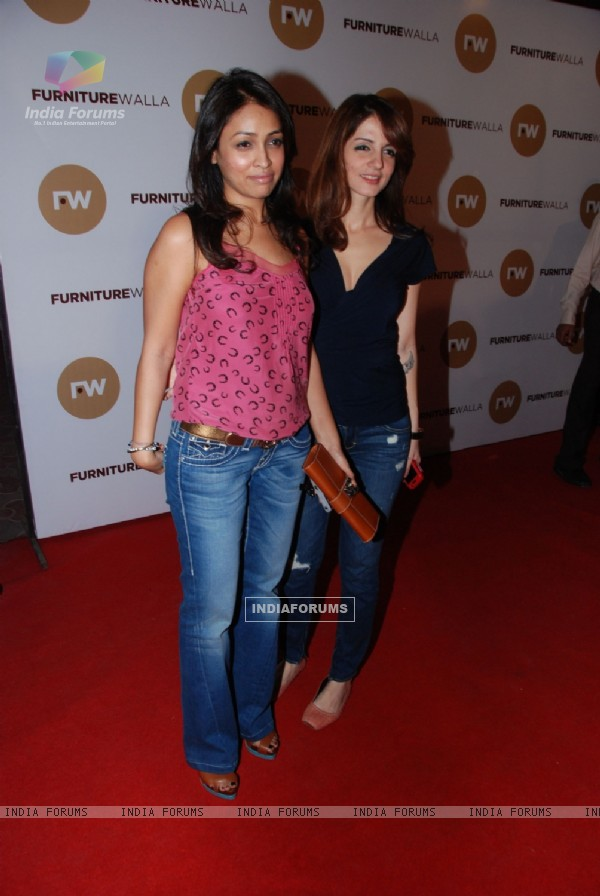 Suzanne Roshan grace Laila Khan's furniturewala launch at Worli, Mumbai. .