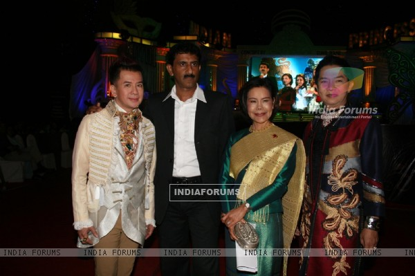 Celebs at Grand Finale of Indian Princess 2011-12