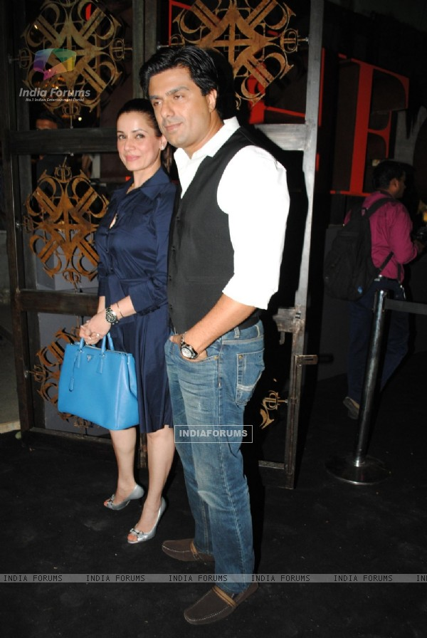Sameer Soni and Neelam at 'The Charcoal Project'