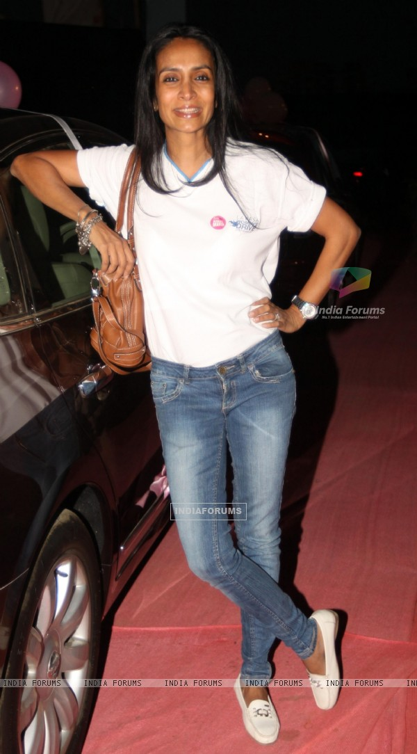 Suchitra Pilla at 'Lavasa Women's Drive 2011' in Mumbai