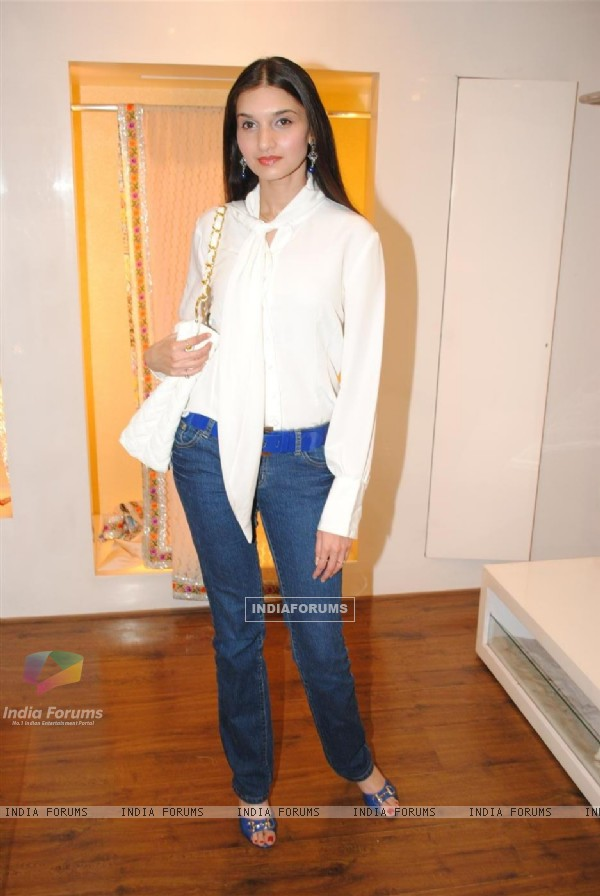 Guest at Neeta Lulla's new collections at AZA showroom