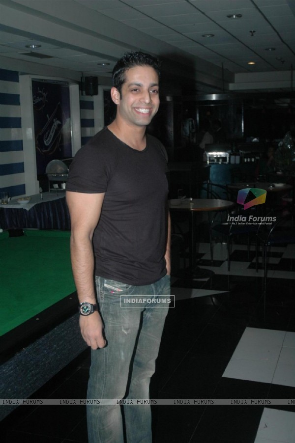 Salil Acharya at Amit Mishra Birthday bash at the club, Mumbai