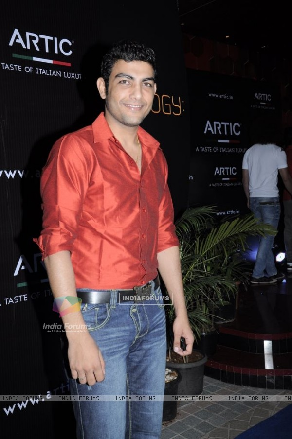 Pravesh Rana at Arctic Vodka launch, Sea Princess