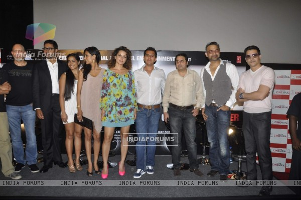Star cast at Game film Press Conference at Cinemax Versova, Mumbai (124783)
