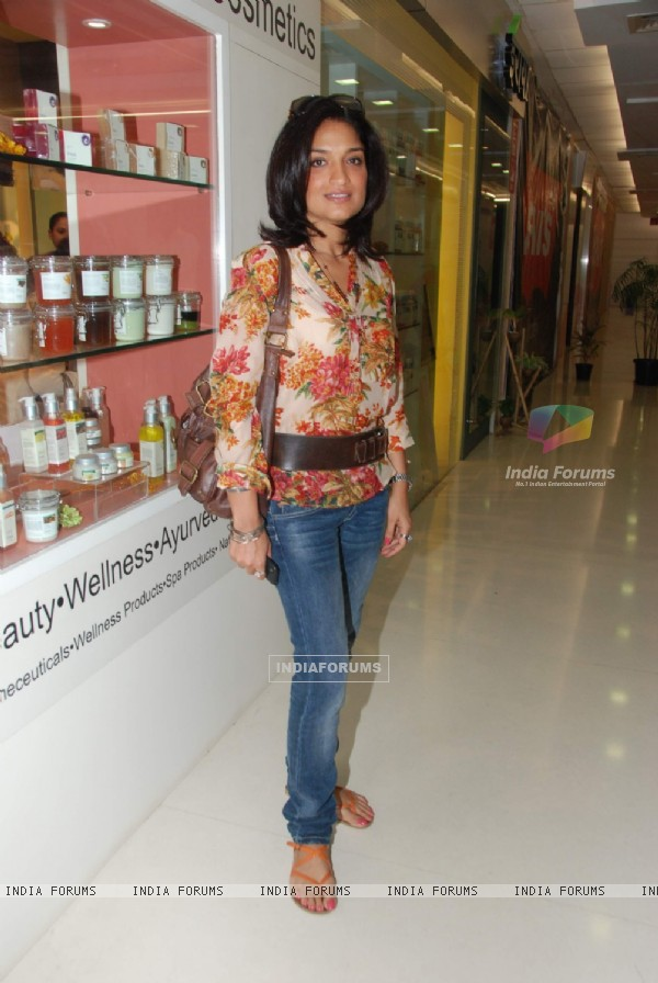 Sandhya Mridul at Ira Dubey Store Launch in Andheri. .