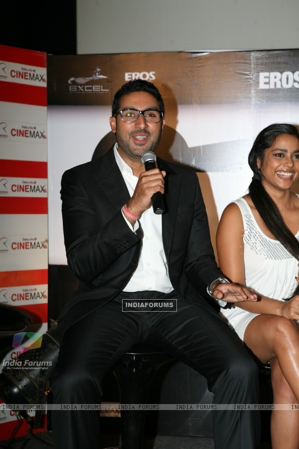 Abhishek Bachchan at Game film Press Conference at Cinemax Versova, Mumbai (124880)