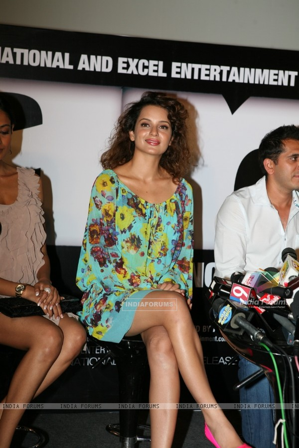 Kangna Ranaut at Game film Press Conference at Cinemax Versova, Mumbai (124881)