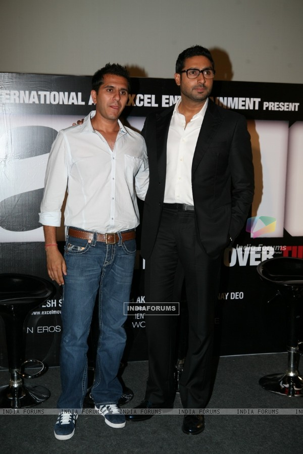 Abhishek Bachchan at Game film Press Conference at Cinemax Versova, Mumbai (124886)