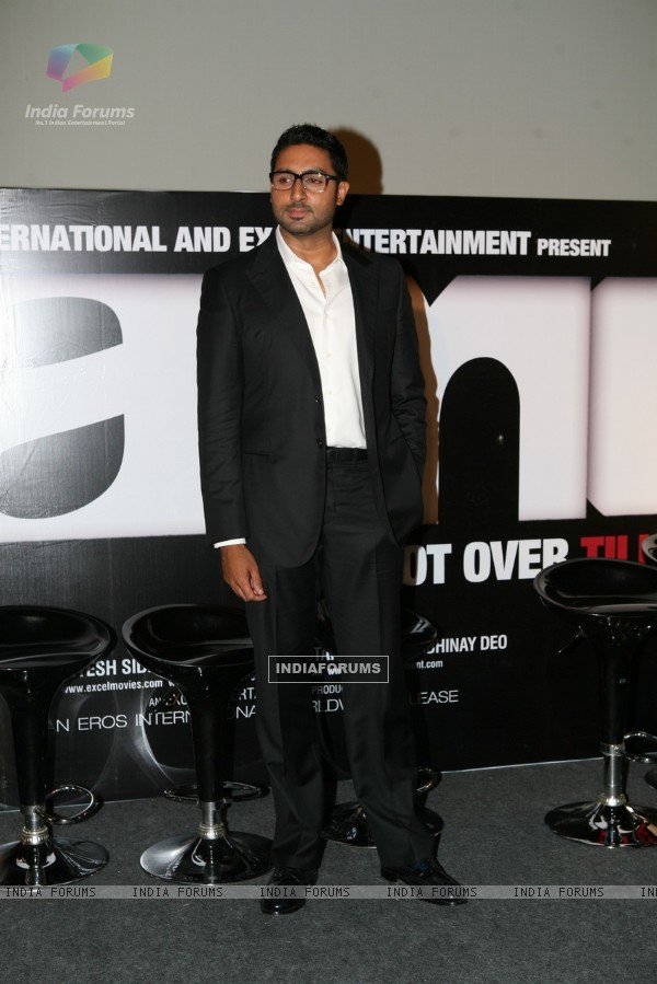 Abhishek Bachchan at Game film Press Conference at Cinemax Versova, Mumbai (124887)