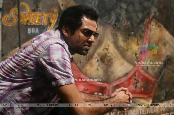 Abhay Deol thinking about something Dev D