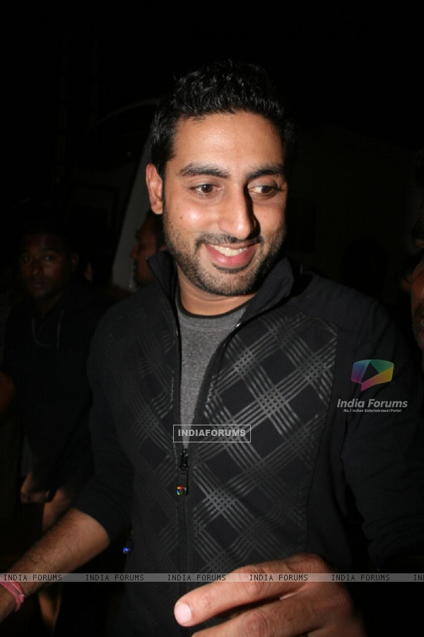 Abhishek Bachchan at BIG STAR IMA Awards