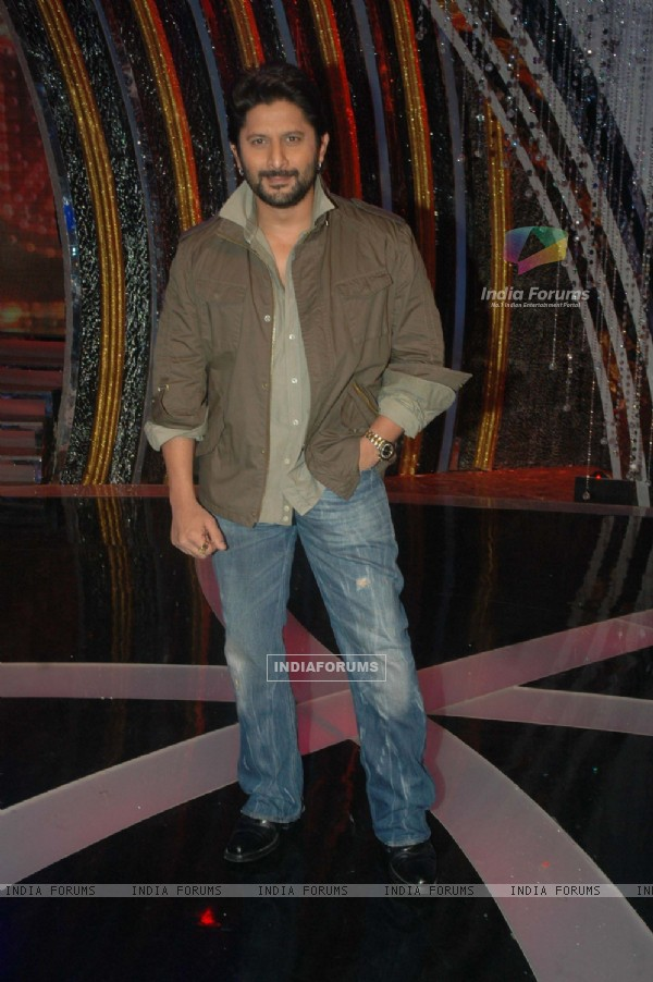 Arshad Warsi on the sets of Comedy Ka Maha Muqabla. .