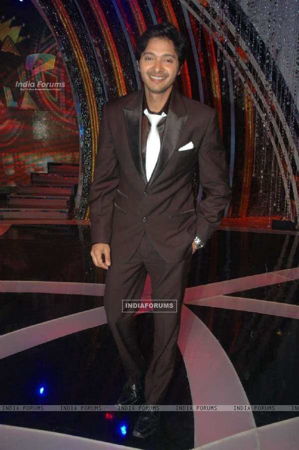 Shreyas Talpade on the sets of Comedy Ka Maha Muqabla. .