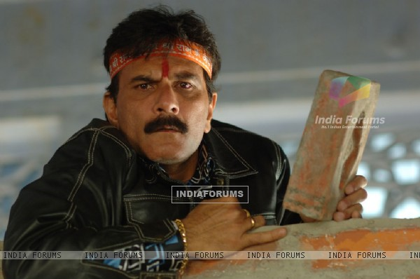 Pavan Malhotra looking shocked