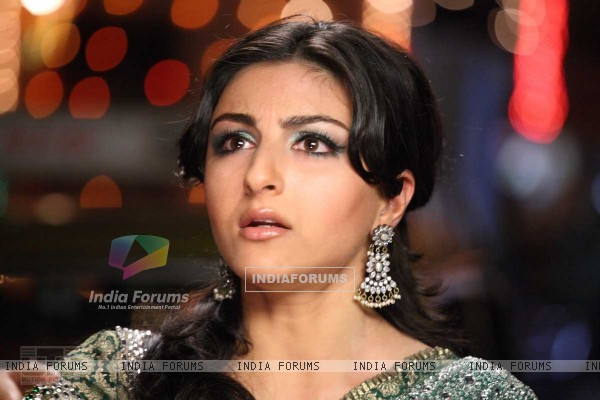 Soha Ali Khan looking shocked