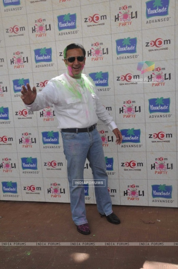 Gulshan Grover at Zoom Holi Party in Tulip star