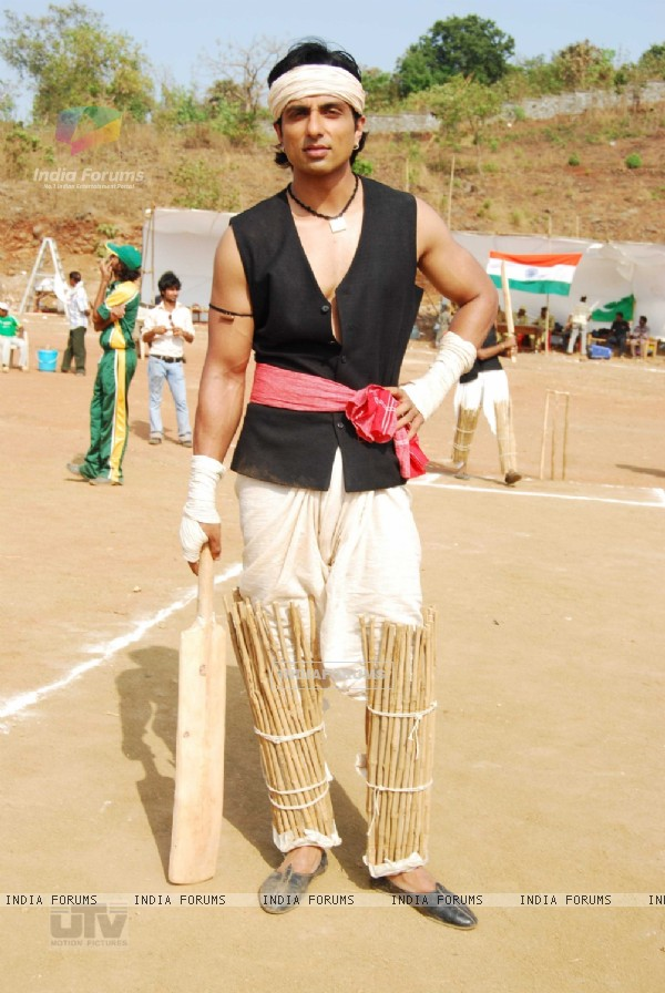 Sonu Sood wearing a village dress